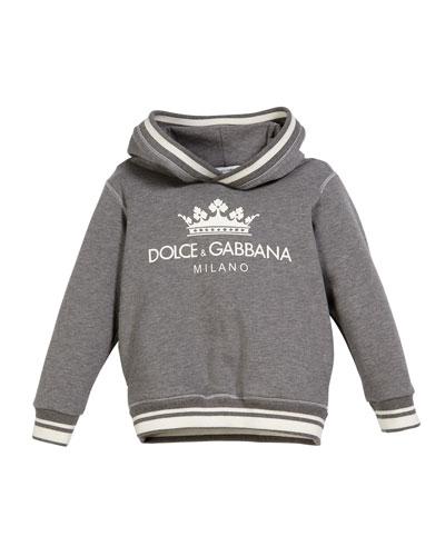 Crown D&G Logo Hoodie