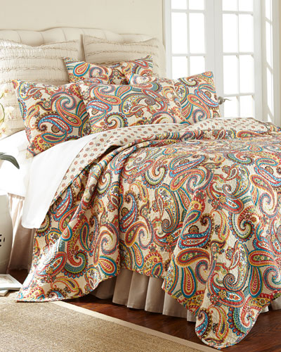 Alyssa Paisley Twin Quilt Set  and Matching Items