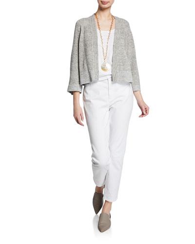 Organic Linen Melange Cardigan  and Matching Items