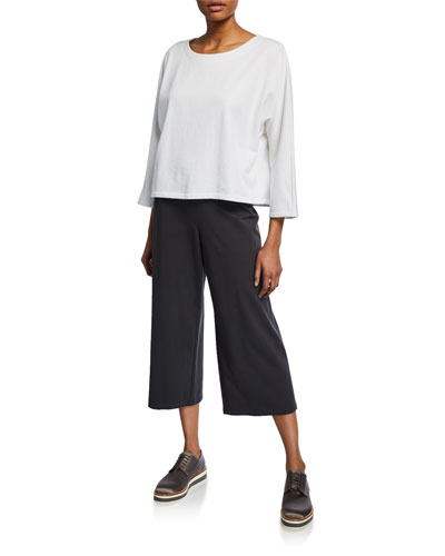 Jersey Cropped Pants and Matching Items