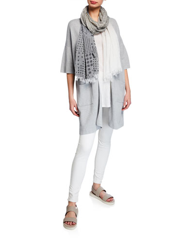 Organic Cotton Dots Scarf  and Matching Items