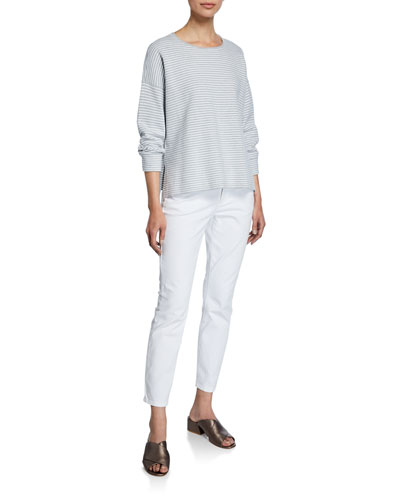 Organic Cotton Stretch High-Waist Skinny Jeans and Matching Items