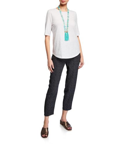 Organic Cotton Slub Tee Shirt and Matching Items  Petite