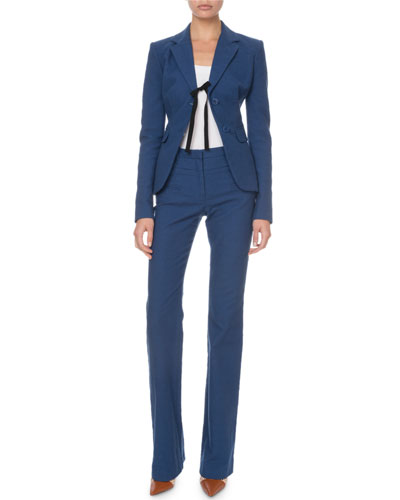 Textured Tie-Front Blazer and Matching Items