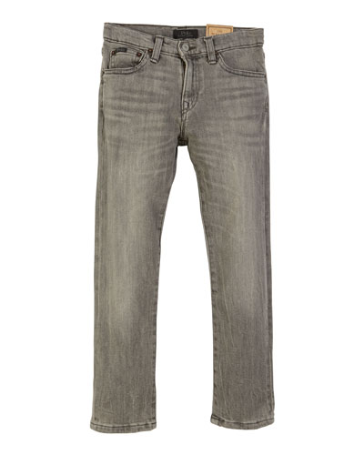 Sullivan Straight-Leg Denim Jeans, Size 2-4 and Matching Items
