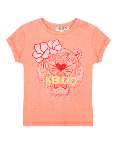 Floral Tiger Graphic T-Shirt  Size 5-6  and Matching Items