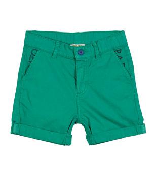76fffc168b5 Kenzo Colored Logo-Pockets Bermuda Shorts