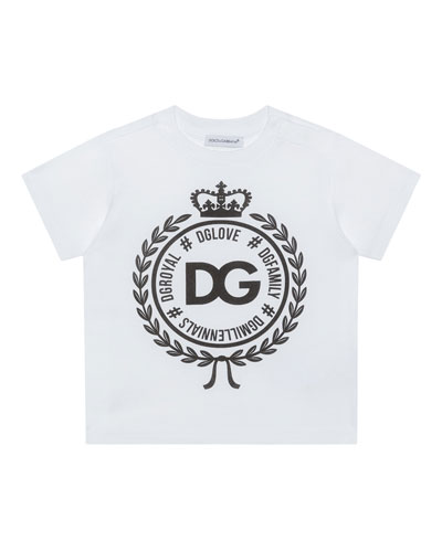 Logo Crest Short-Sleeve T-Shirt