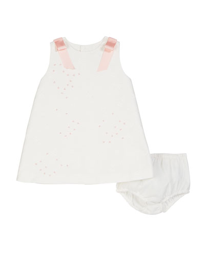 A-Line Brocade Dress w/ Bloomers  Size 3-18 Months  and Matching Items