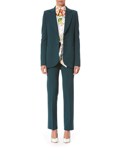 Two-Button Suit Jacket and Matching Items