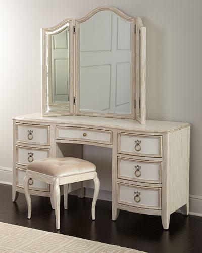 Genevieve Vanity Mirror  and Matching Items