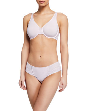 Wacoal Soft Embrace Full-Coverage Contour Underwire Bra Soft Embrace  Hipster Briefs 26202ff56