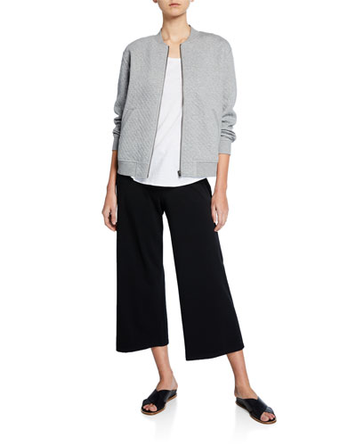 Petite Diamond Double-Knit Jacket and Matching Items