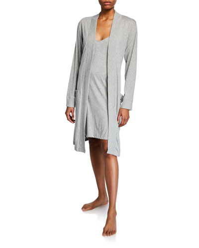 Odiana Jersey Short Robe and Matching Items