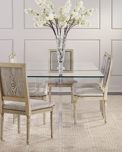 Oris Acrylic Dining Table  and Matching Items