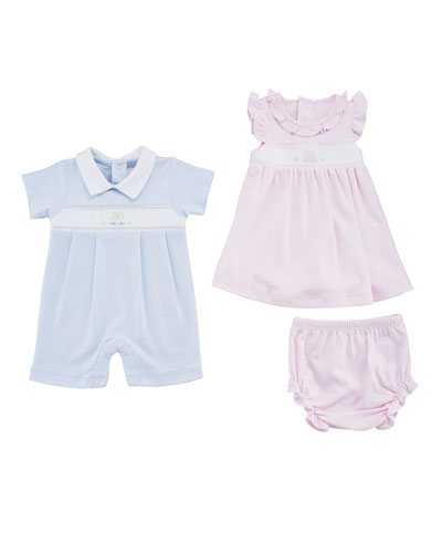 Premier Bunny Pink Dress w/ Bloomers  Size 3-18 Months  and Matching Items