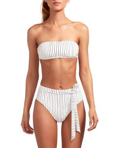 Mila Swim Top with Removable Straps  Bolero Stripe and Matching Items