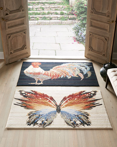 Gallen Rooster Accent Rug  3' x 5'  and Matching Items