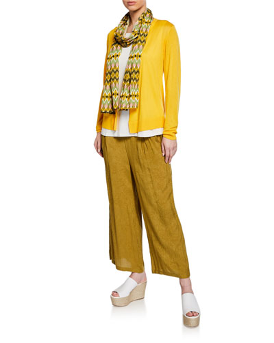 Lalitae Open-Front Cashmere Cardigan and Matching Items