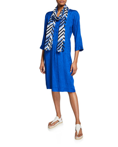 Nahia V-Neck 3/4-Sleeve Shift Dress and Matching Items