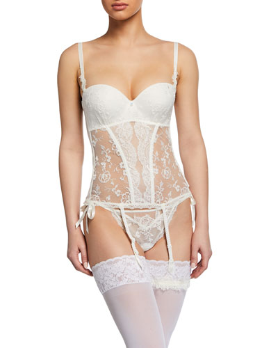 Arte Et Volupte Lace Bustier and Matching Items