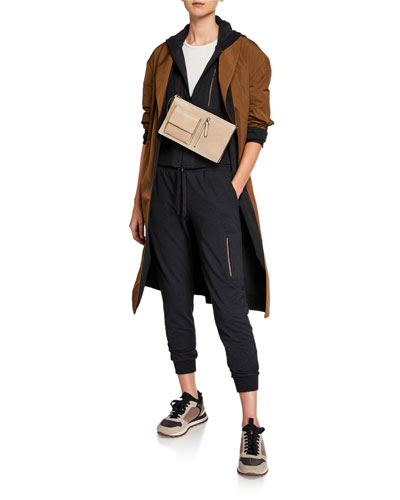 Reversible Taffeta Trench Coat and Matching Items