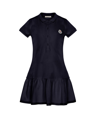 Short-Sleeve Polo Dress  Size 4-6  and Matching Items