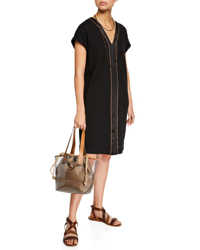 See-Through Shoulder Tote Bag and Matching Items