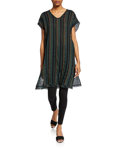 Cotton Gauze Caftan and Matching Items