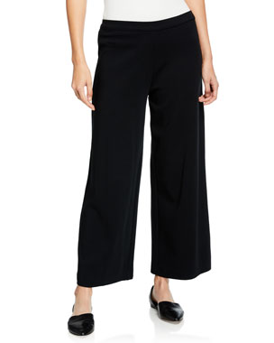 b45c8a841315f Joan Vass Plus Size Long-Sleeve Cotton Interlock Top with Ruching   Tie  Detail Plus