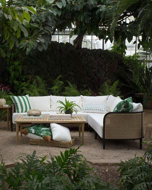 c5fd0552c2be Summer Classics Woodlawn Coffee Table Havana Sofa Havana Sectional
