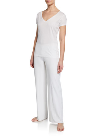 Grey Diamond Plate Womens Pajama Pants S Personalized