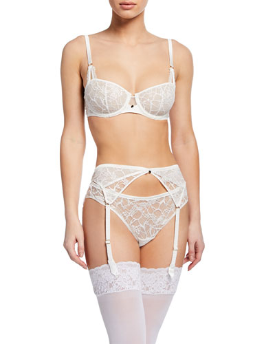 Segur Unlined Lace Demi Bra and Matching Items