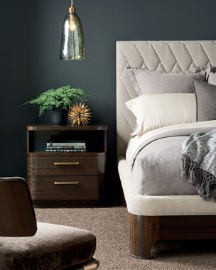 Caracole Moderne Queen Bed King California