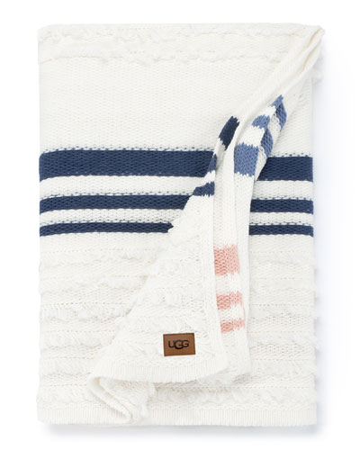 Solana Stripe Pillow  and Matching Items