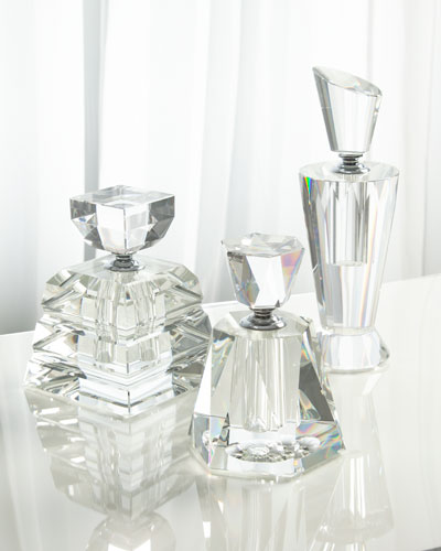 Large Etta Perfume Bottle  and Matching Items