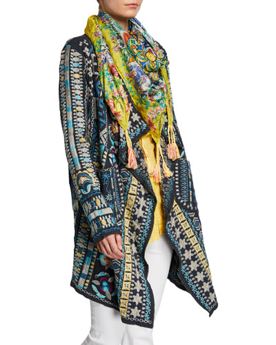 Plus Size Kostol Easy Wrap Jacket and Matching Items