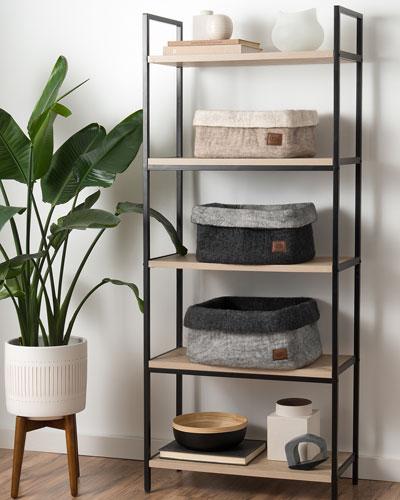 Jade Cover Medium Basket  and Matching Items