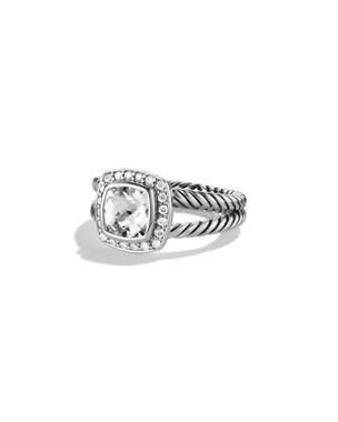 a7aaf4223b269d David Yurman Petite Albion Ring with Black Onyx and Diamonds Petite Albion  Ring with Pyrope Garnet
