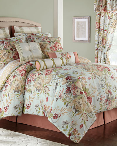 Lorraine 4-Piece King Comforter Set  and Matching Items