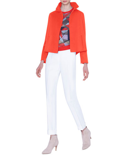 Castro Cashmere Double-Face Jacket and Matching Items