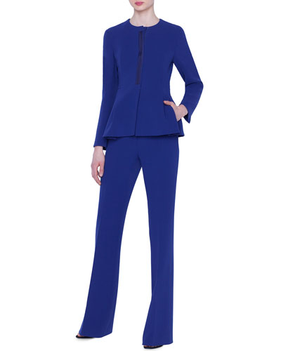 Dai Wool Peplum Jacket and Matching Items