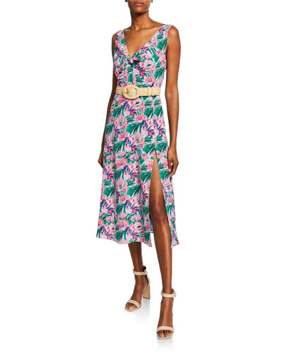 Rio Sleeveless Floral Dress and Matching Items