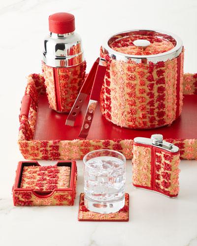Raffia Ice Bucket  and Matching Items