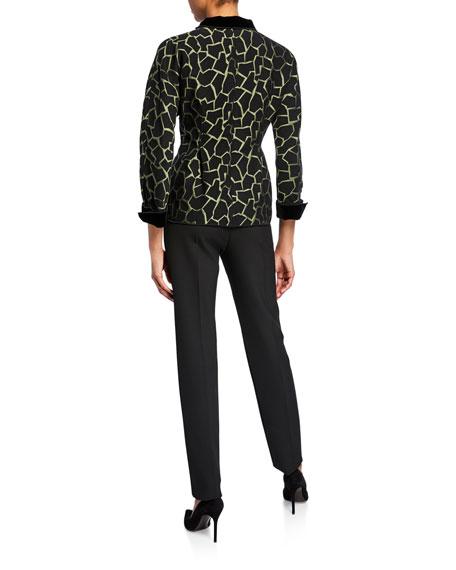 Giraffe-Print Jacket