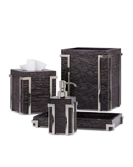 Labrazel Embrace Oak Chrome Tissue Box Cover