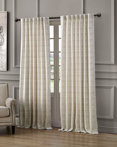 Astrid Back Tab Curtain Panel, 84