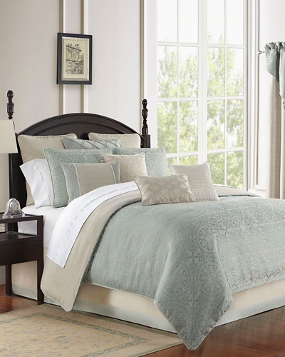 Daphne Reversible 4-Piece Queen Comforter Set  and Matching Items