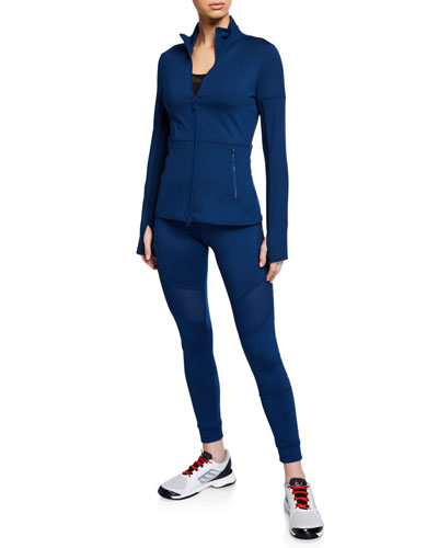 Performance Essentials Mid-Layer Zip-Front Active Top and Matching Items