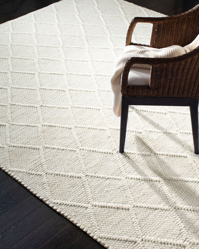 Millie Hand-Woven Rug, 6' x 9'  and Matching Items